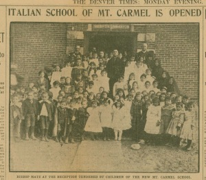 Italian School of Mt Carmel is opened