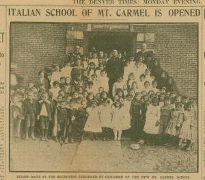 Italian School of Mt Carmel is opened