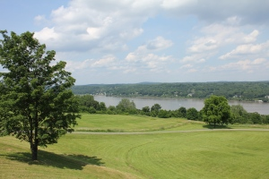 View of the Hudson River from West Park, NY